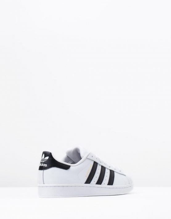 Adidas Originals Mens Superstar White Black 2