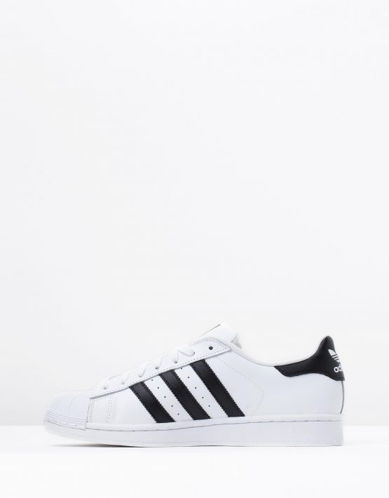 Adidas Originals Mens Superstar White Black 3