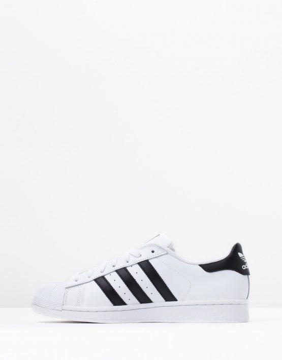Adidas Originals Mens Superstar White Black 3