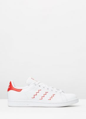 Adidas Women's Stan Smith W Red-White 1
