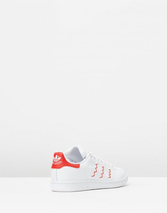 Adidas Womens Stan Smith W Red White 2