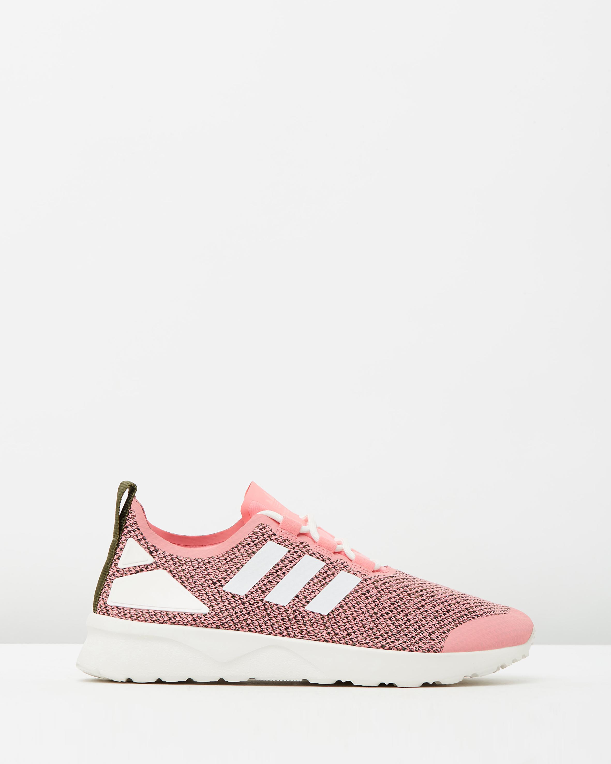 save off 4e88b c8326 Adidas Women's ZX Flux ADV Verve W Pink