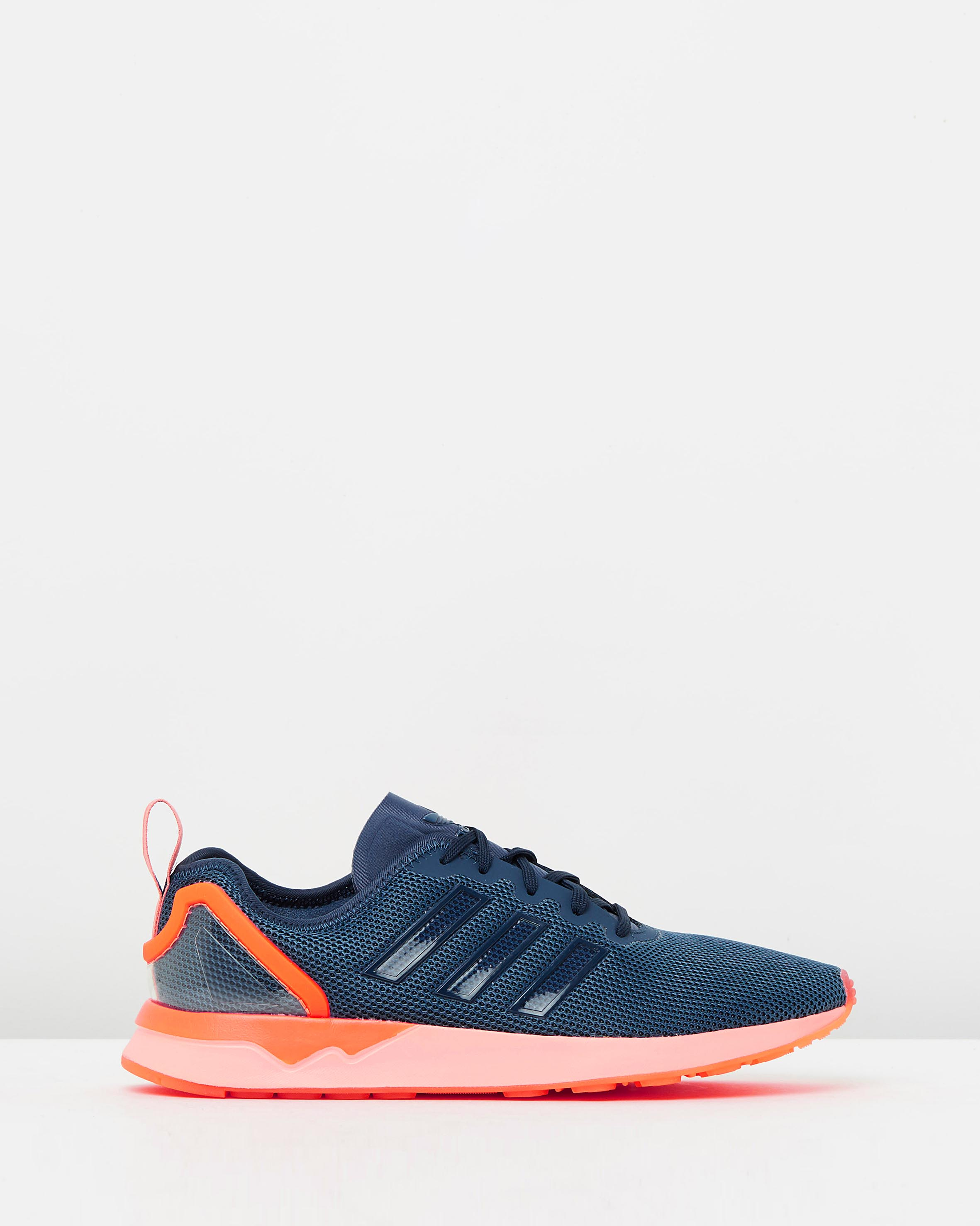 huge selection of c43fc f1744 Adidas ZX Flux ADV Blue & Orange