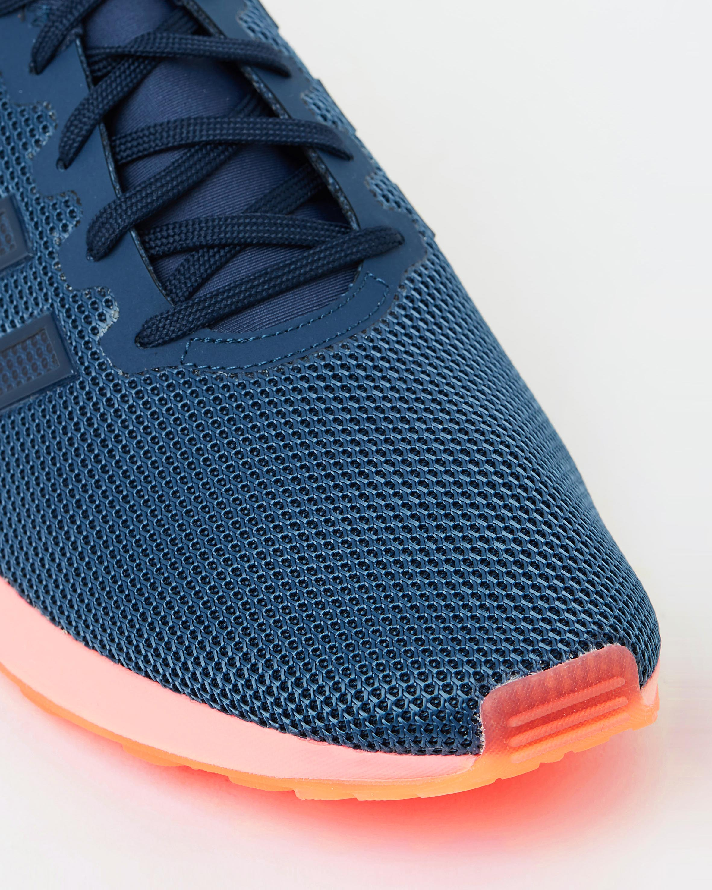 Adidas Zx Flux Orange And Blue