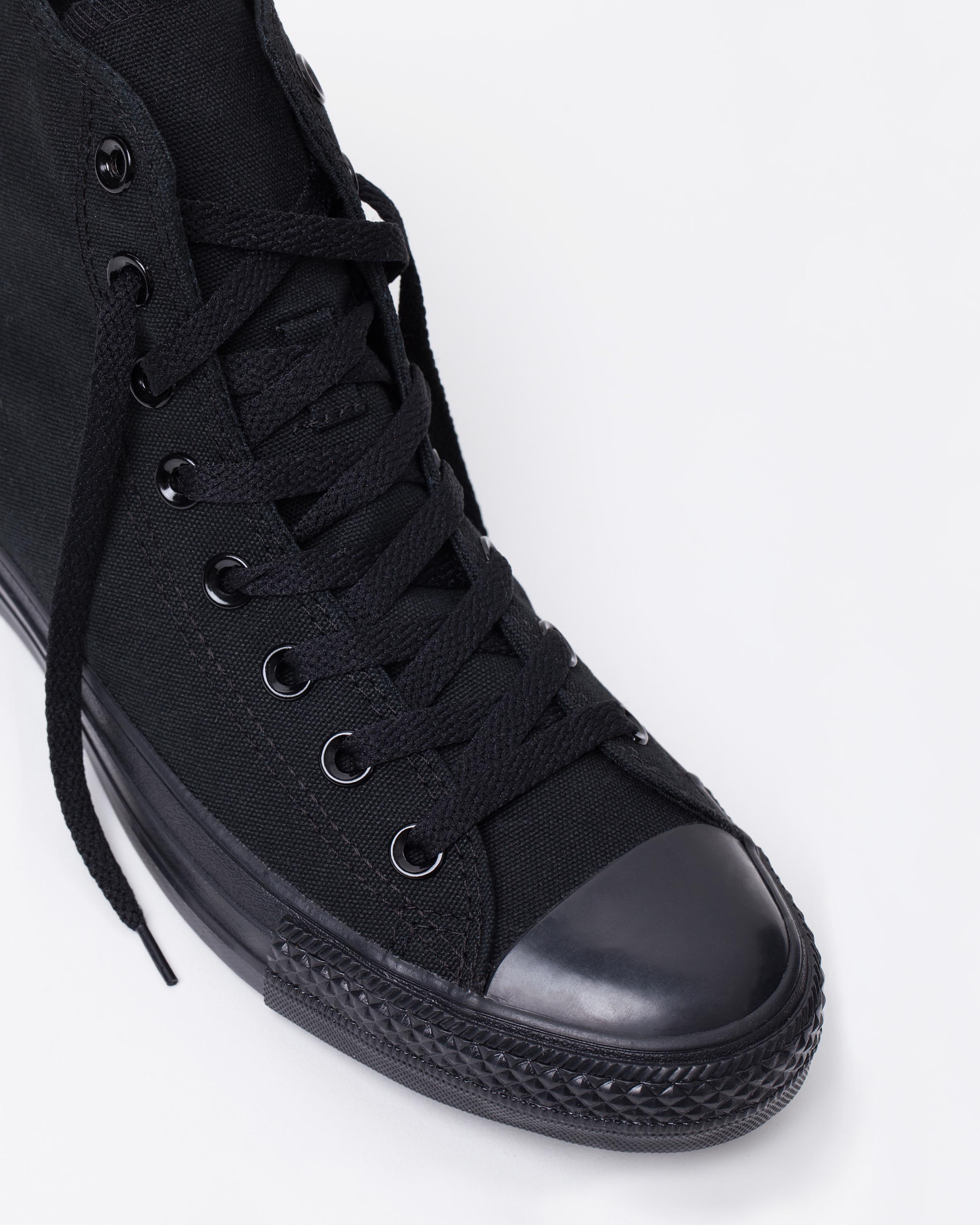 ... coupon converse chuck taylor all star hi womens black monochrome 4  614c0 9584b a6a89137c