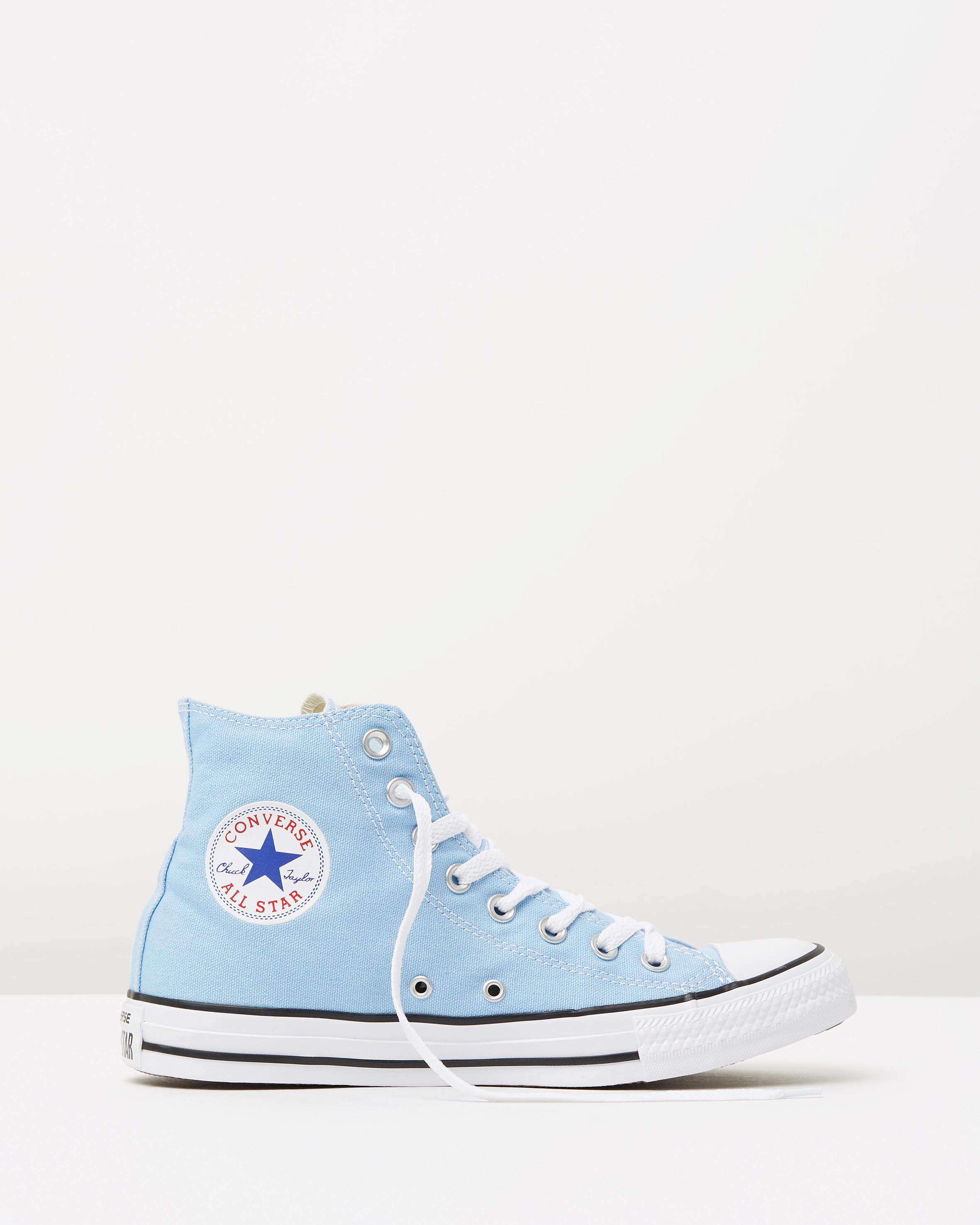 5c8192b4b55f Converse Chuck Taylor All Star Hi Womens Blue Sky 1 ...