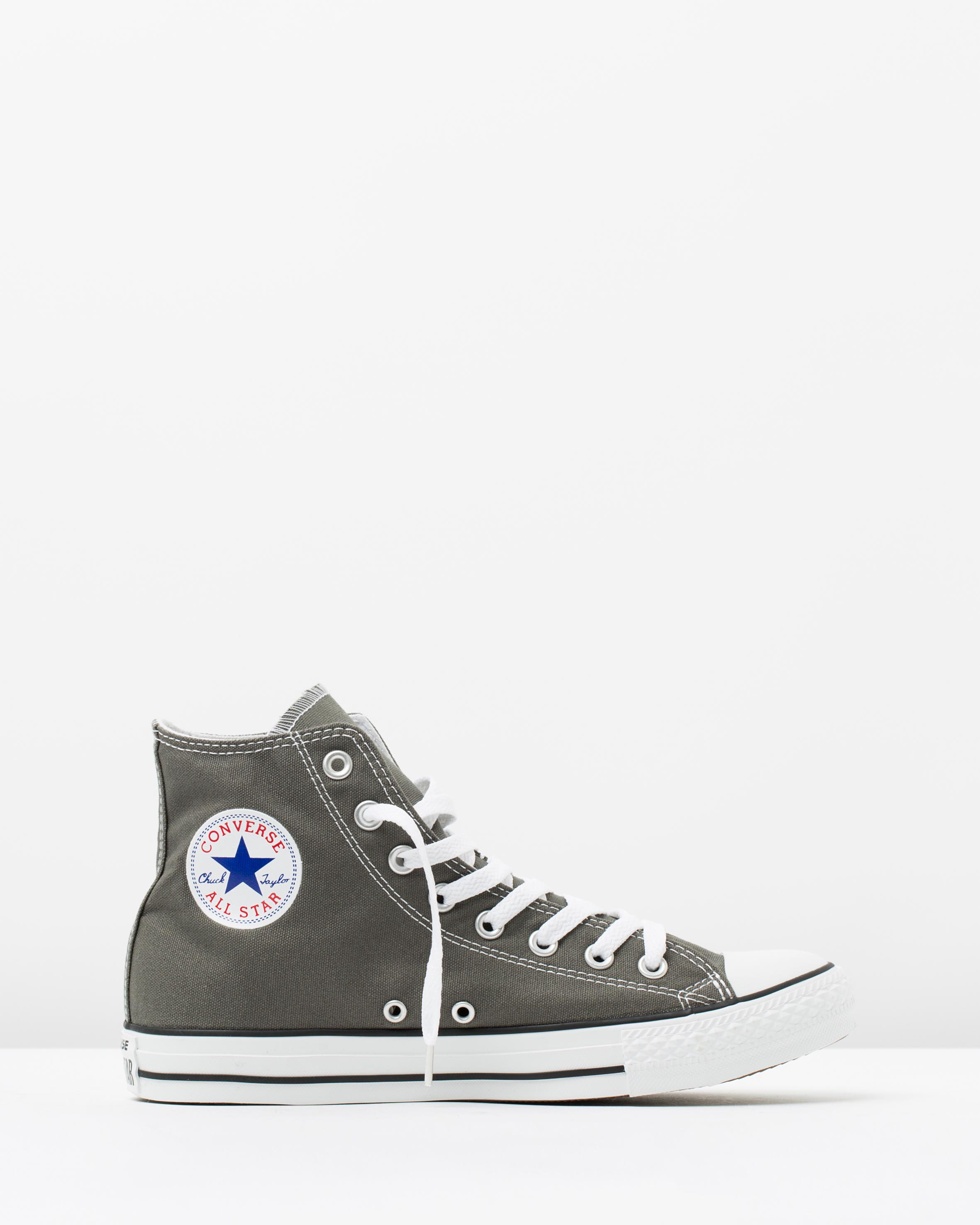 63c61c58e980 Converse Chuck Taylor All Star Hi Womens Charcoal 1 ...