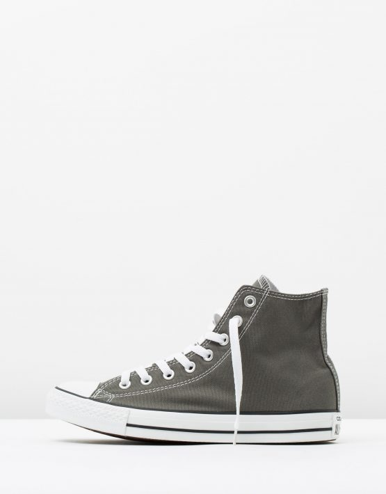 Converse Chuck Taylor All Star Hi Womens Charcoal 3