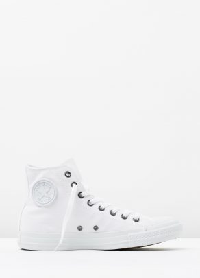Converse Chuck Taylor All Star Hi Womens White Monochrome 1