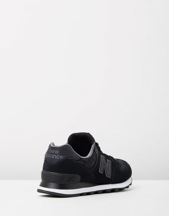 New Balance Womens WL574 Black Lace 2