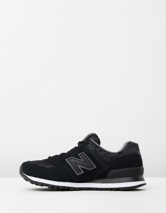 New Balance Womens WL574 Black Lace 3