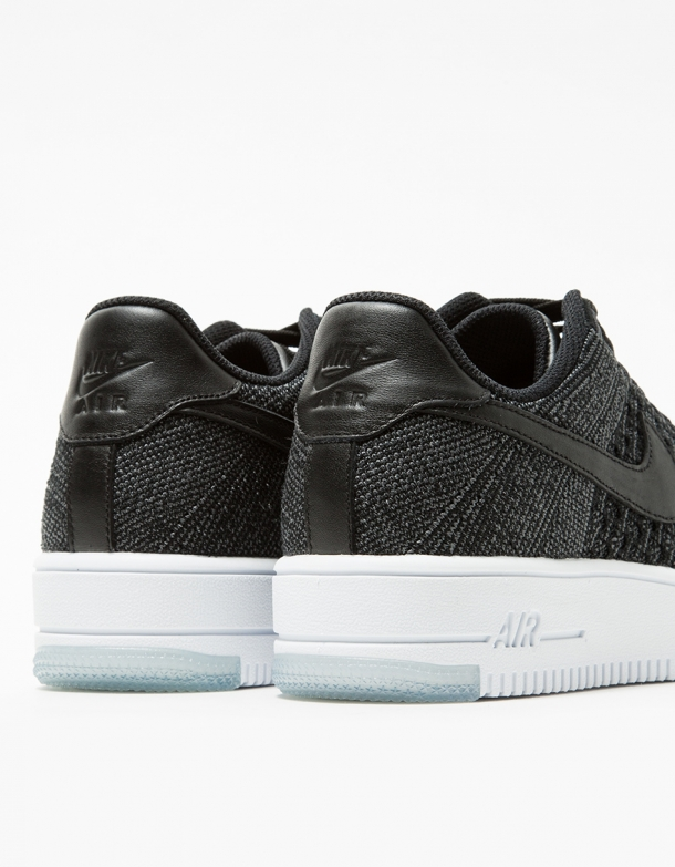 premium selection 24db5 ab0c0 Nike AF1 Flyknit Low in Black