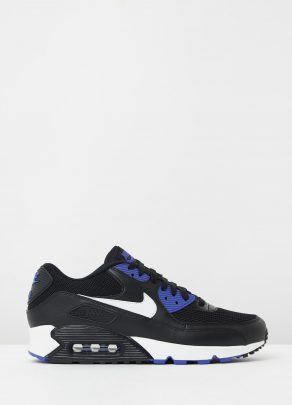 Nike Air Max 90 Essential Black White Persian Violet 1