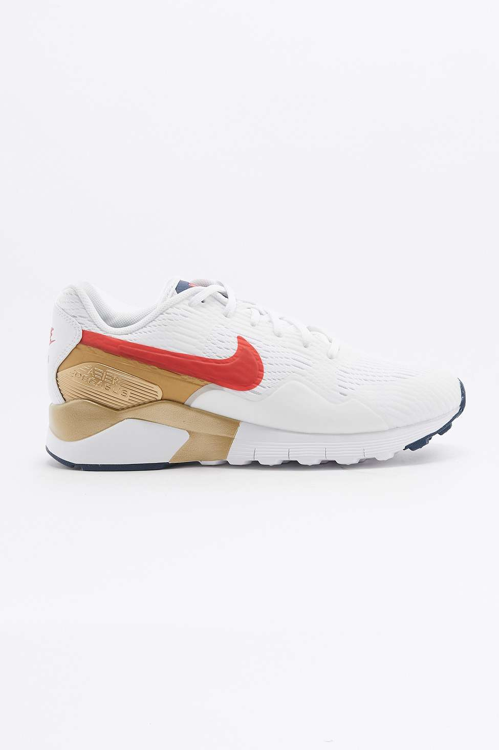 new style 5dc85 b8bee ... Nike Air Pegasus 92 Red Gold and Blue Trainers 2 ...