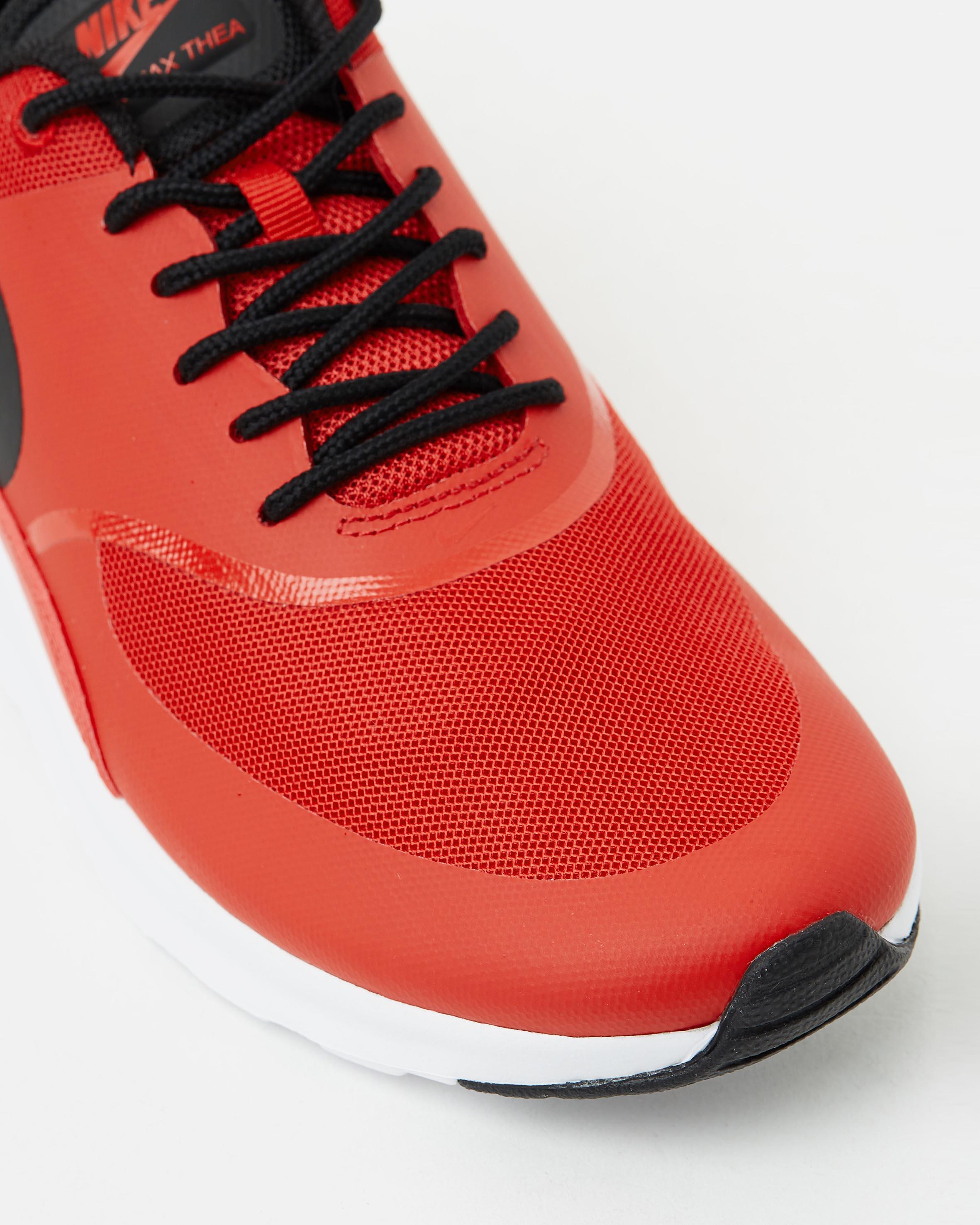 ... Nike Womens Air Max Thea University Red 4 9e43df5be9