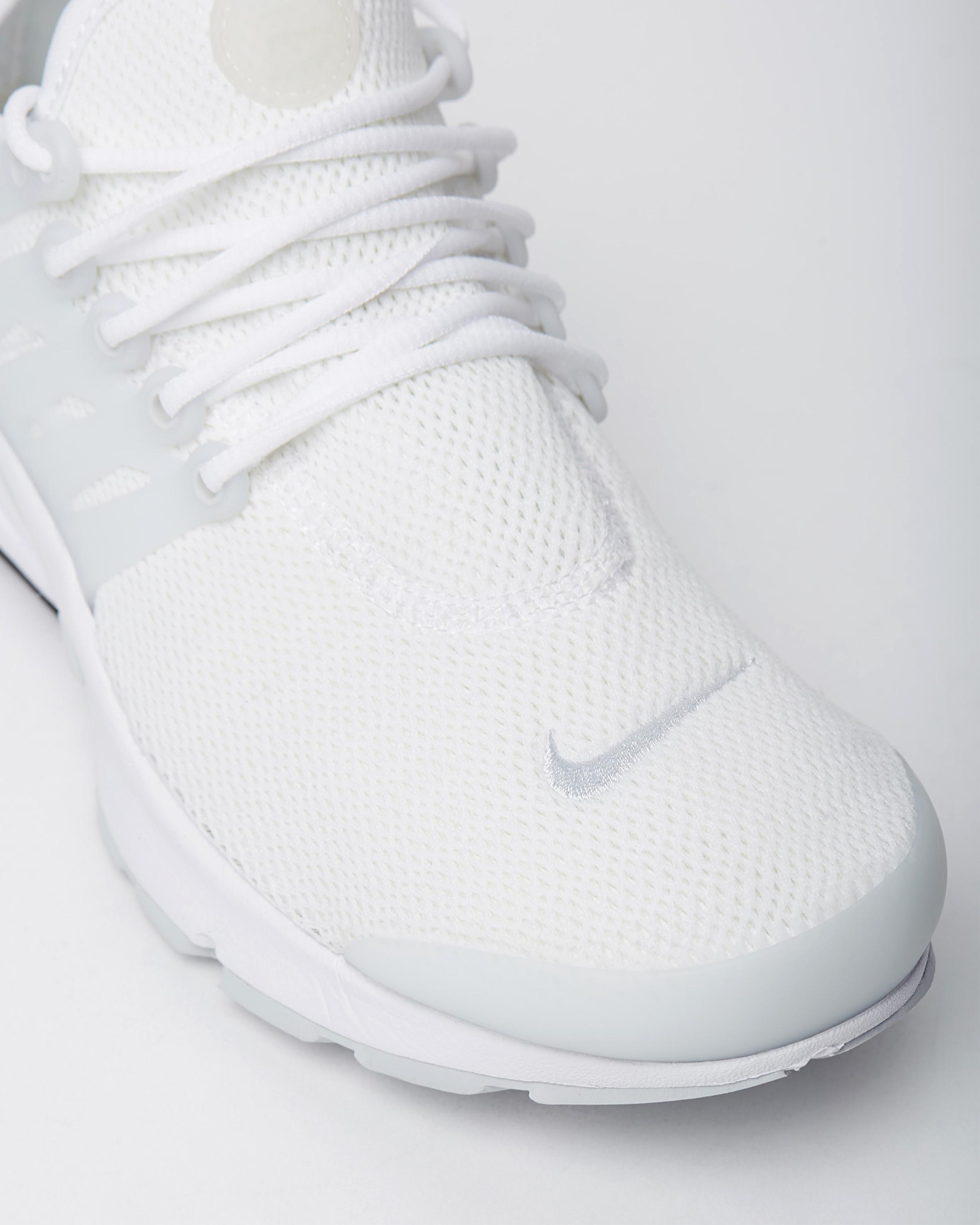 hot sale online 1e08f 6e6a5 Nike Women's Air Presto White