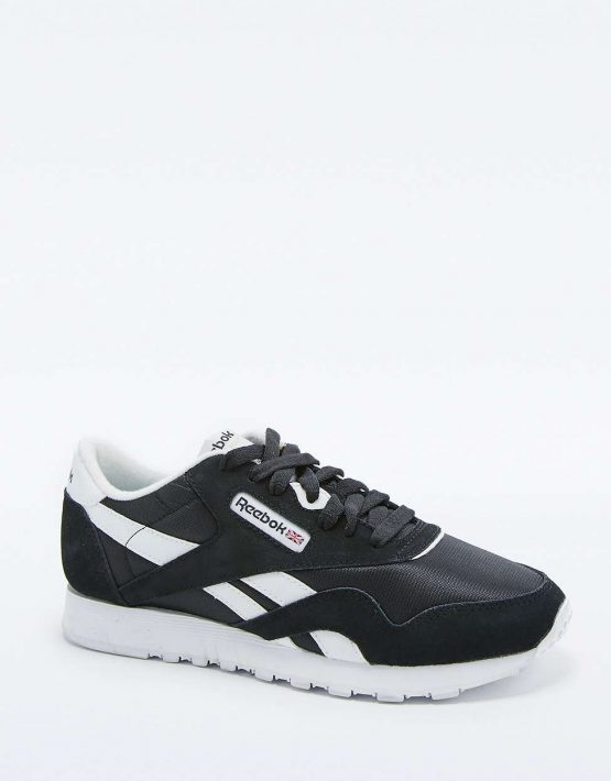 Reebok Classic Black and White Trainers 1