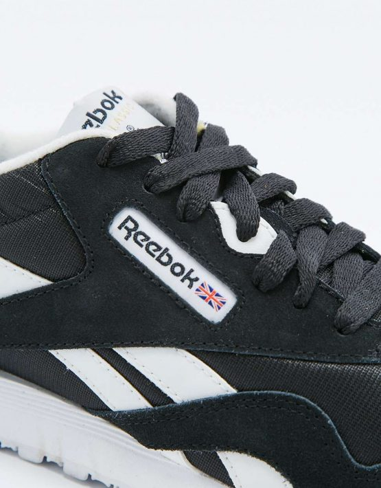 Reebok Classic Black and White Trainers 3