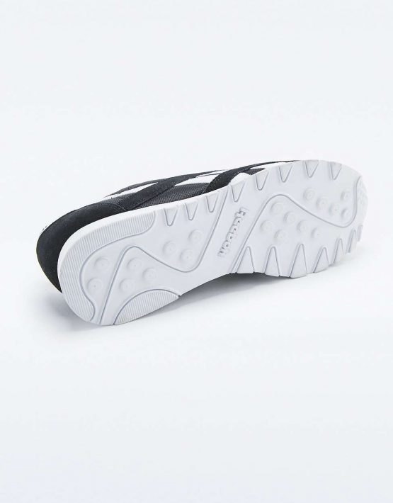 Reebok Classic Black and White Trainers 5