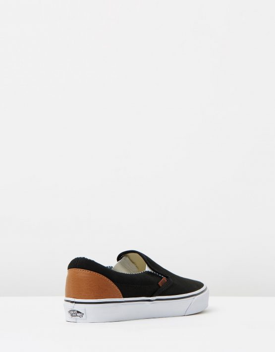 Vans Wmns Slip on Black stripe Denim 2