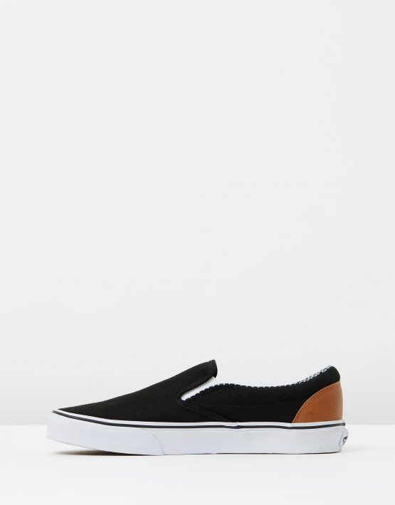 Vans Wmns Slip on Black stripe Denim 3