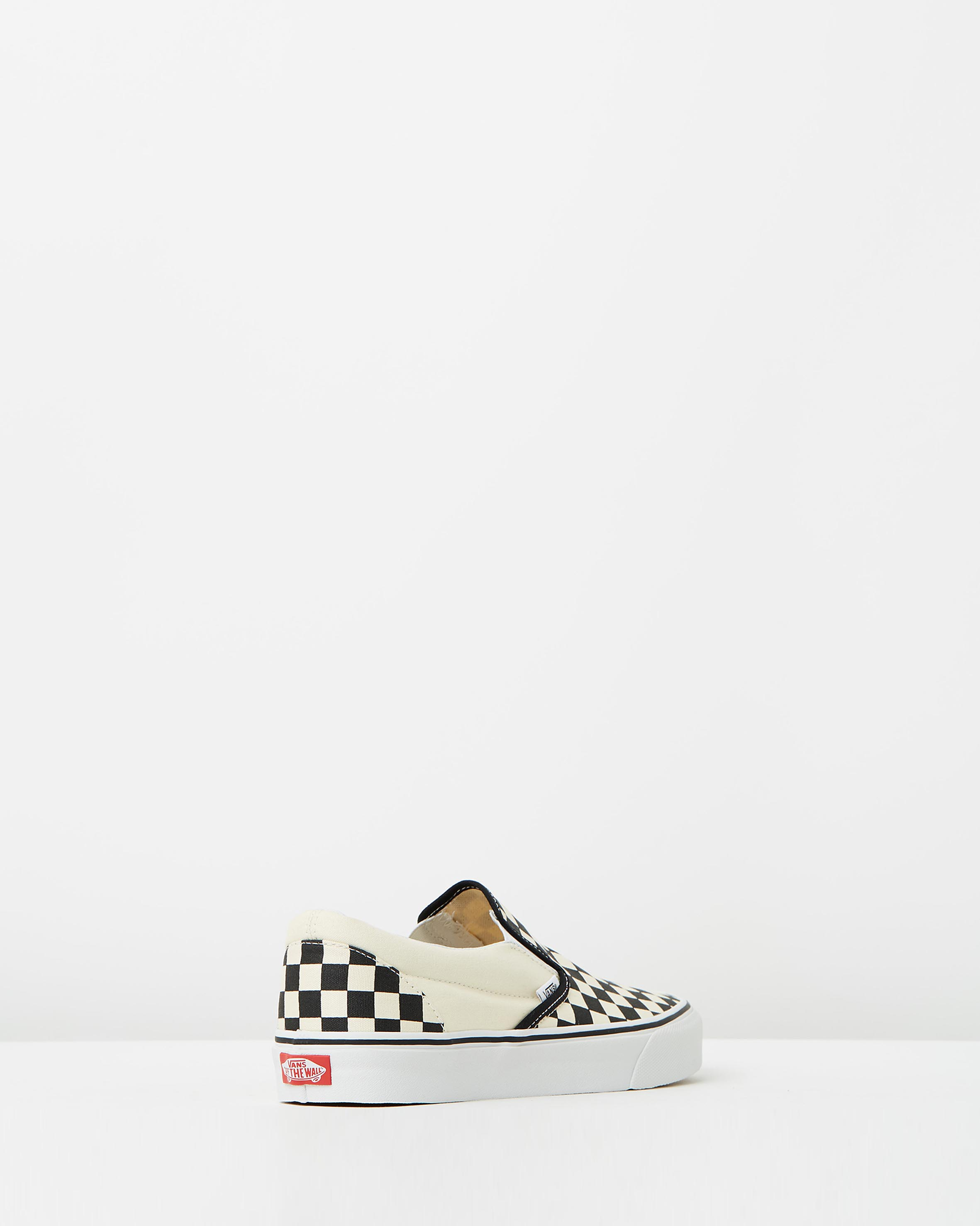 vans womens classic slip on checkerboard sneaker store. Black Bedroom Furniture Sets. Home Design Ideas