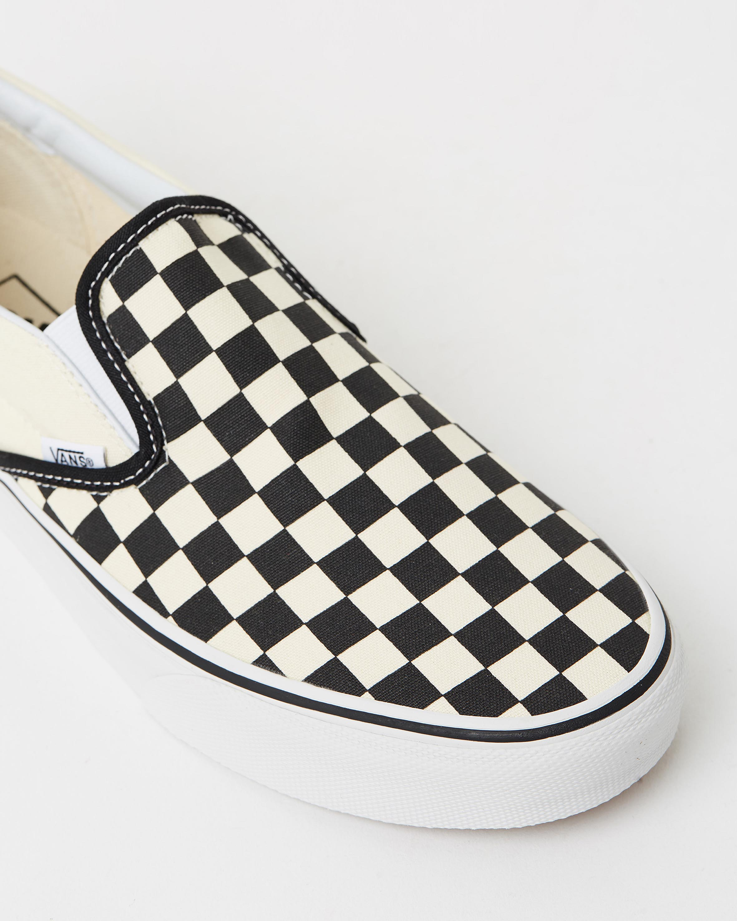 slip on checkerboard vans sale