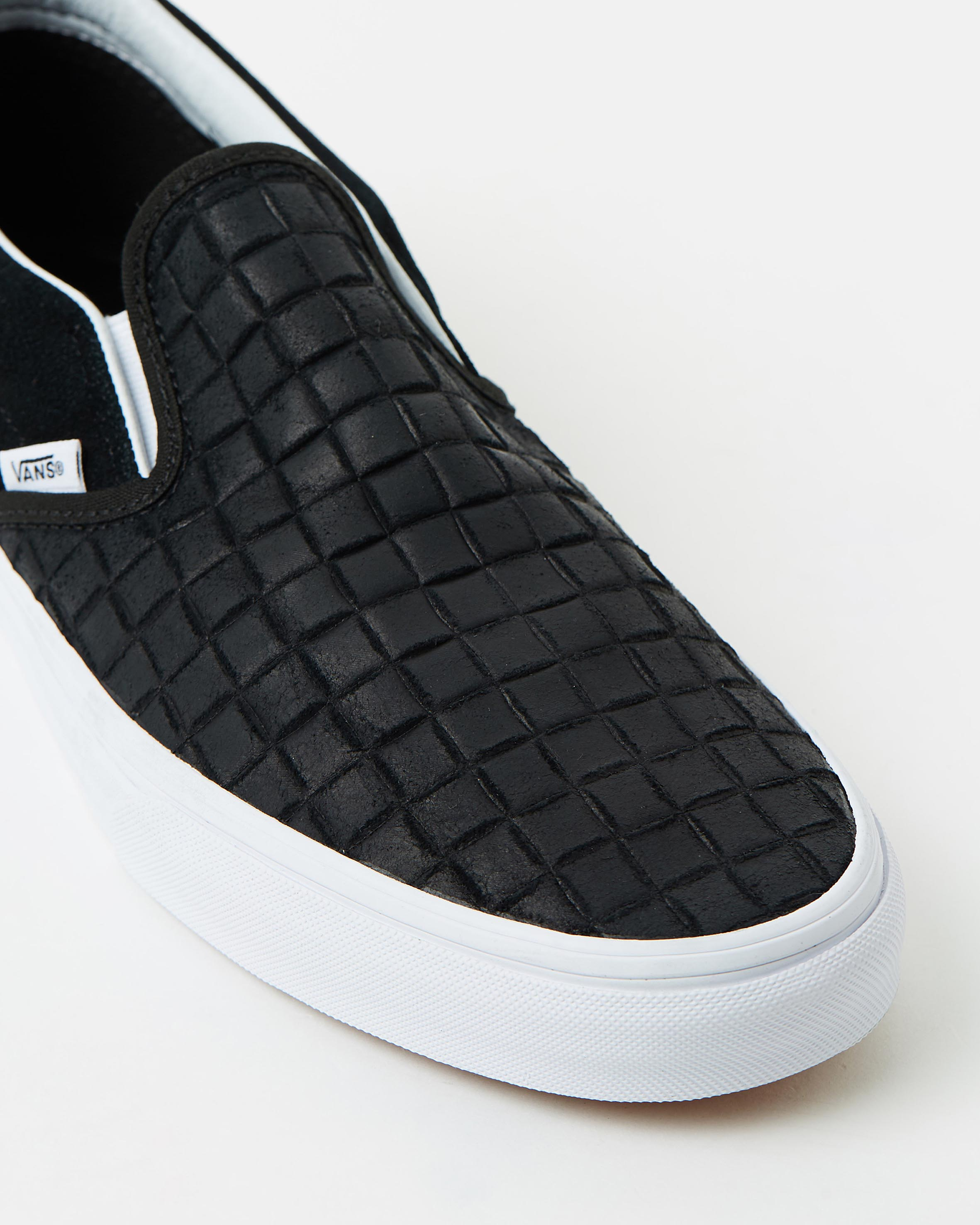 all black vans womens