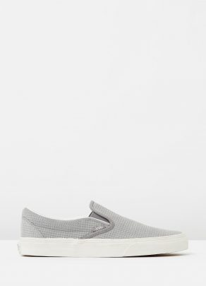 Vans Womens Classic Slip On Wild Dove Skate Shoe 1