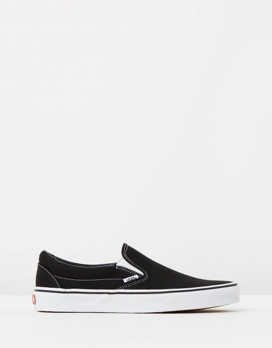 Vans Womens Classic Slip on Skate Shoe Black 1