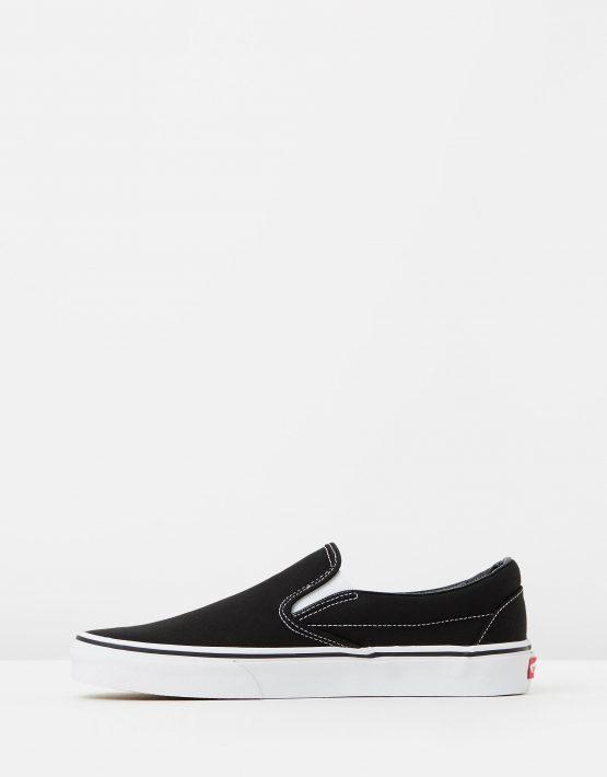 Vans Womens Classic Slip on Skate Shoe Black 3