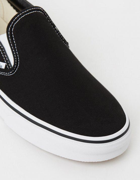 Vans Womens Classic Slip on Skate Shoe Black 4