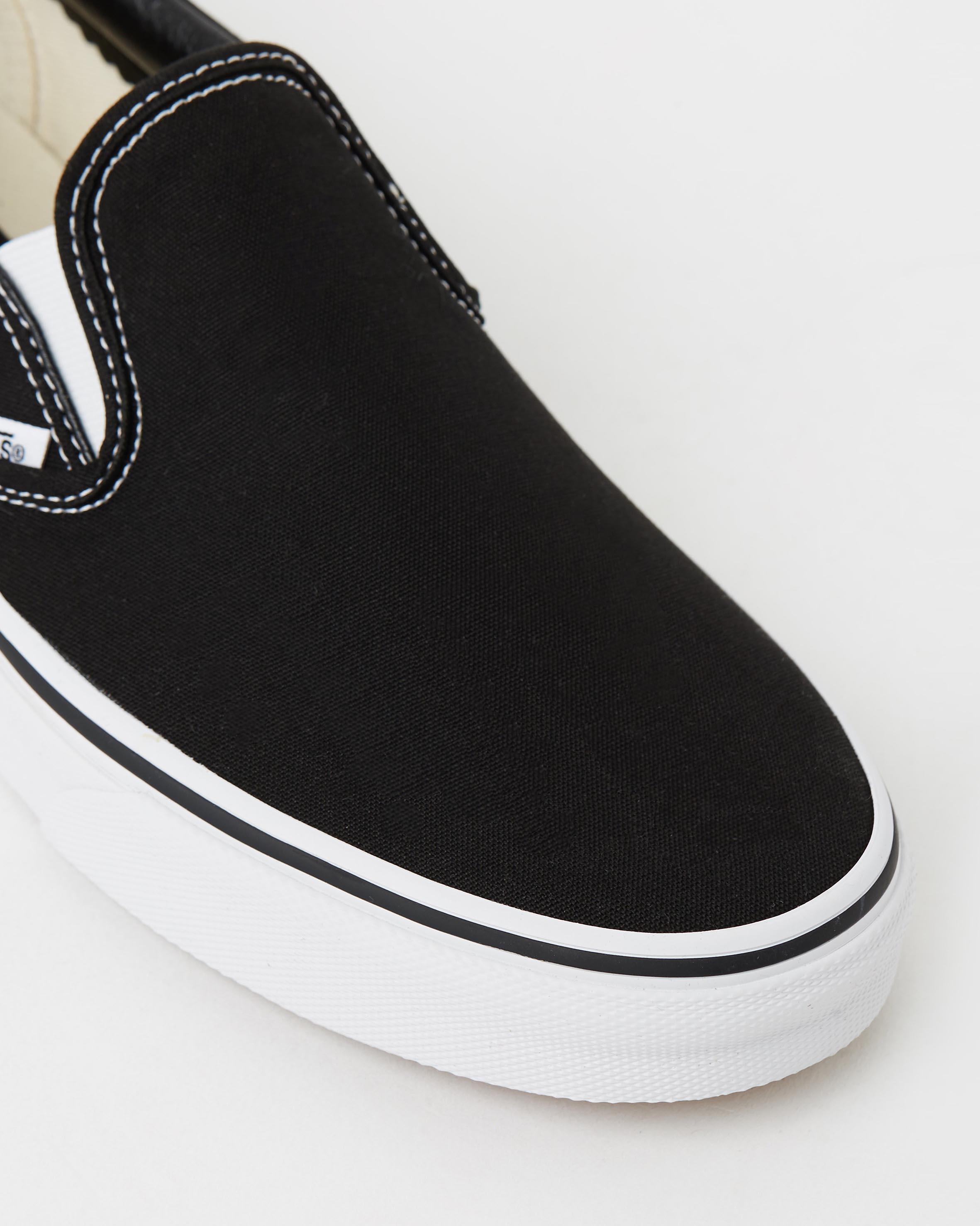 vans womens black