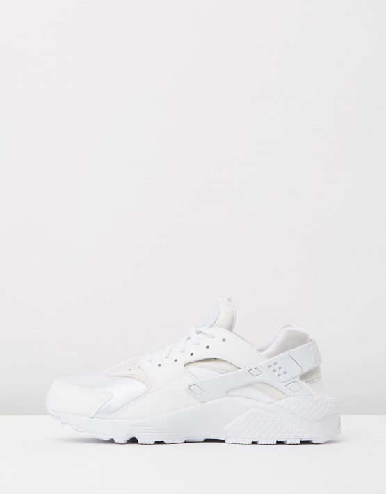 Womens Nike Air Huarache Run White 3