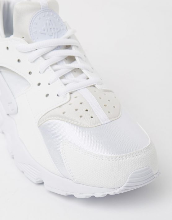 Womens Nike Air Huarache Run White 4