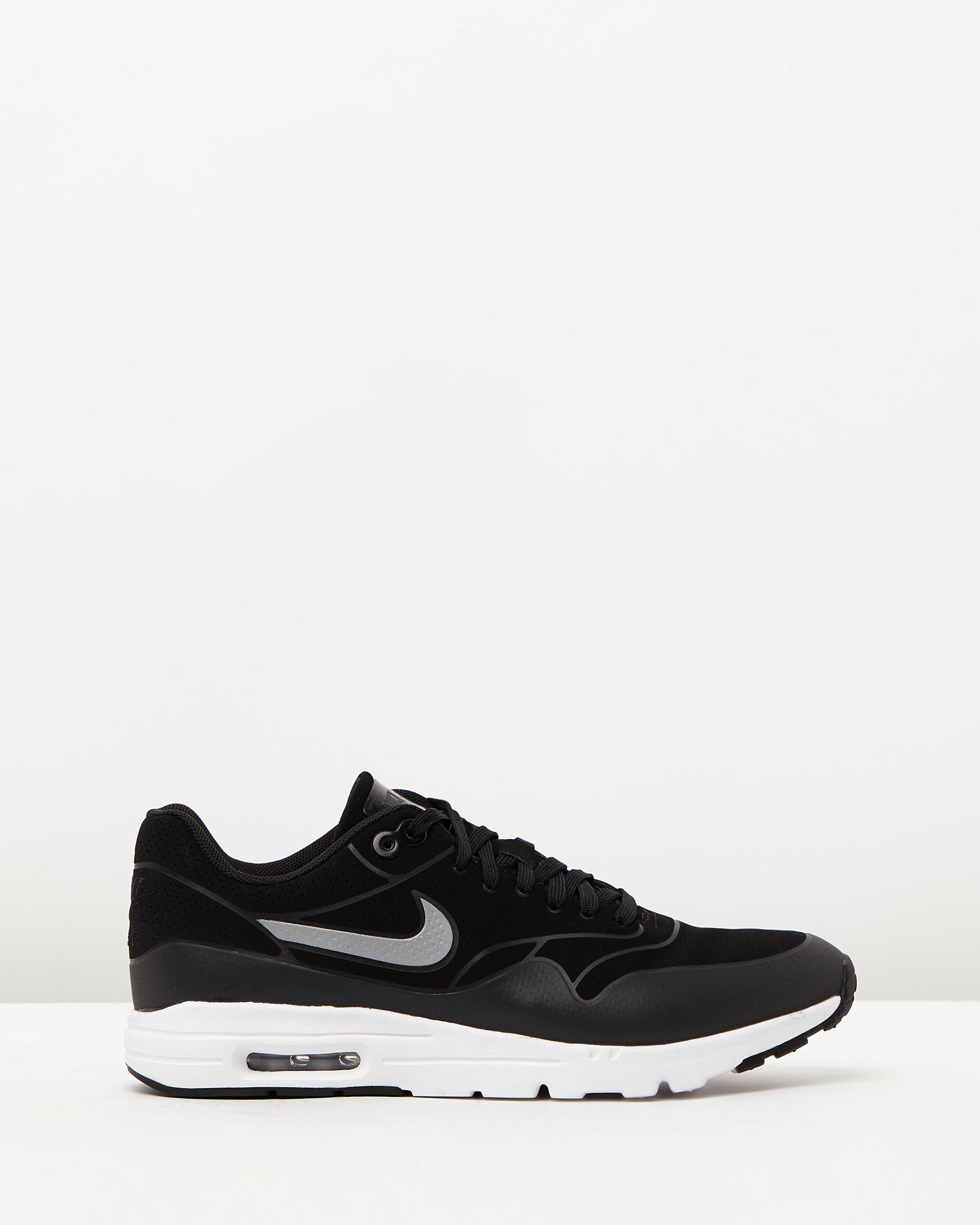 women s nike air max 1 ultra moire black sneaker store. Black Bedroom Furniture Sets. Home Design Ideas