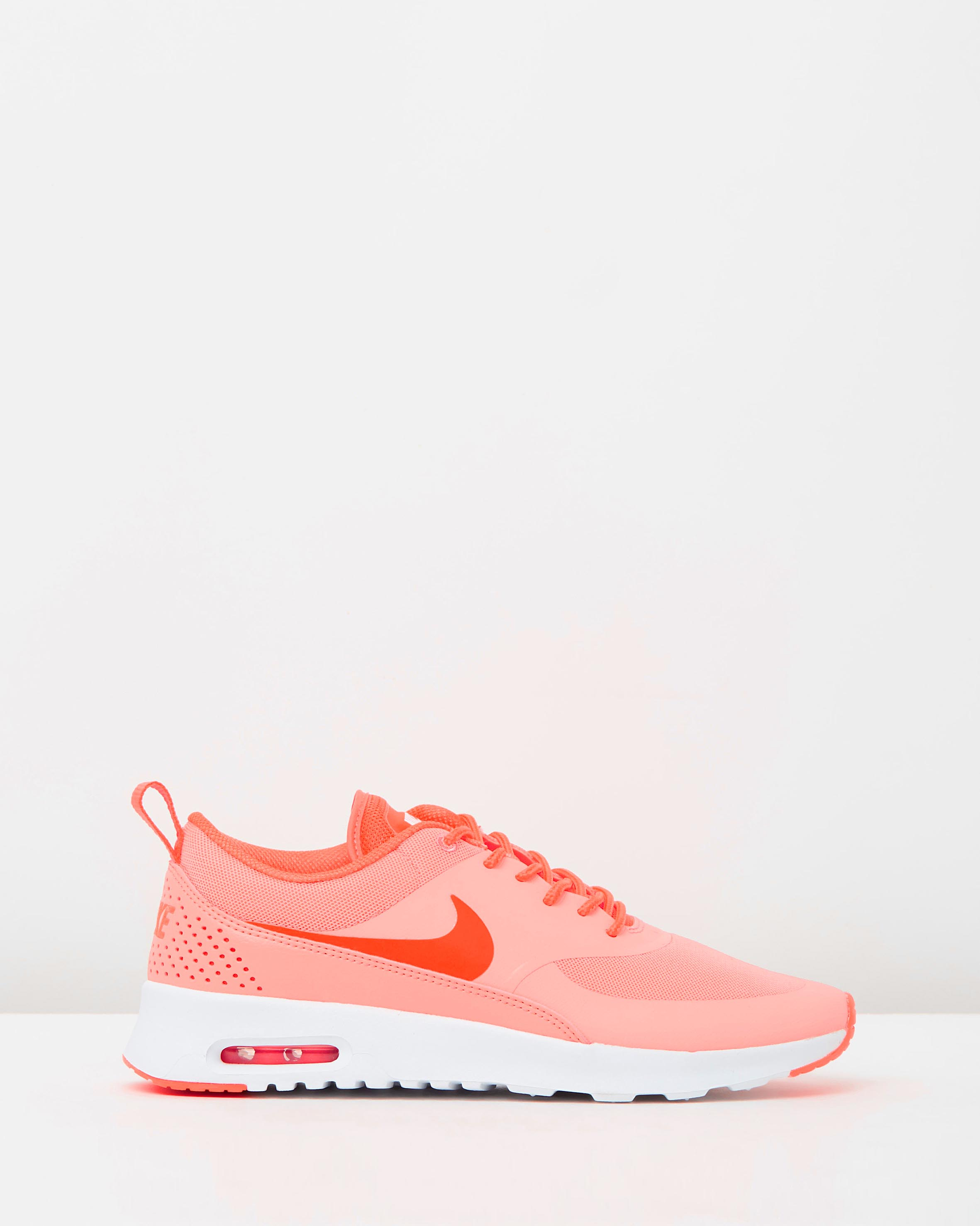 women s nike air max thea atomic pink sneaker store. Black Bedroom Furniture Sets. Home Design Ideas