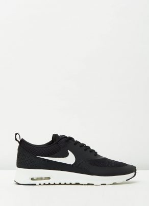 Womens Nike Air Max Thea Black Summit White 1