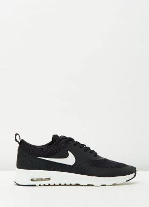 Womens Nike Air Max Thea Black Summit White 1