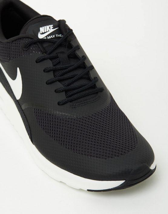 Womens Nike Air Max Thea Black Summit White 4