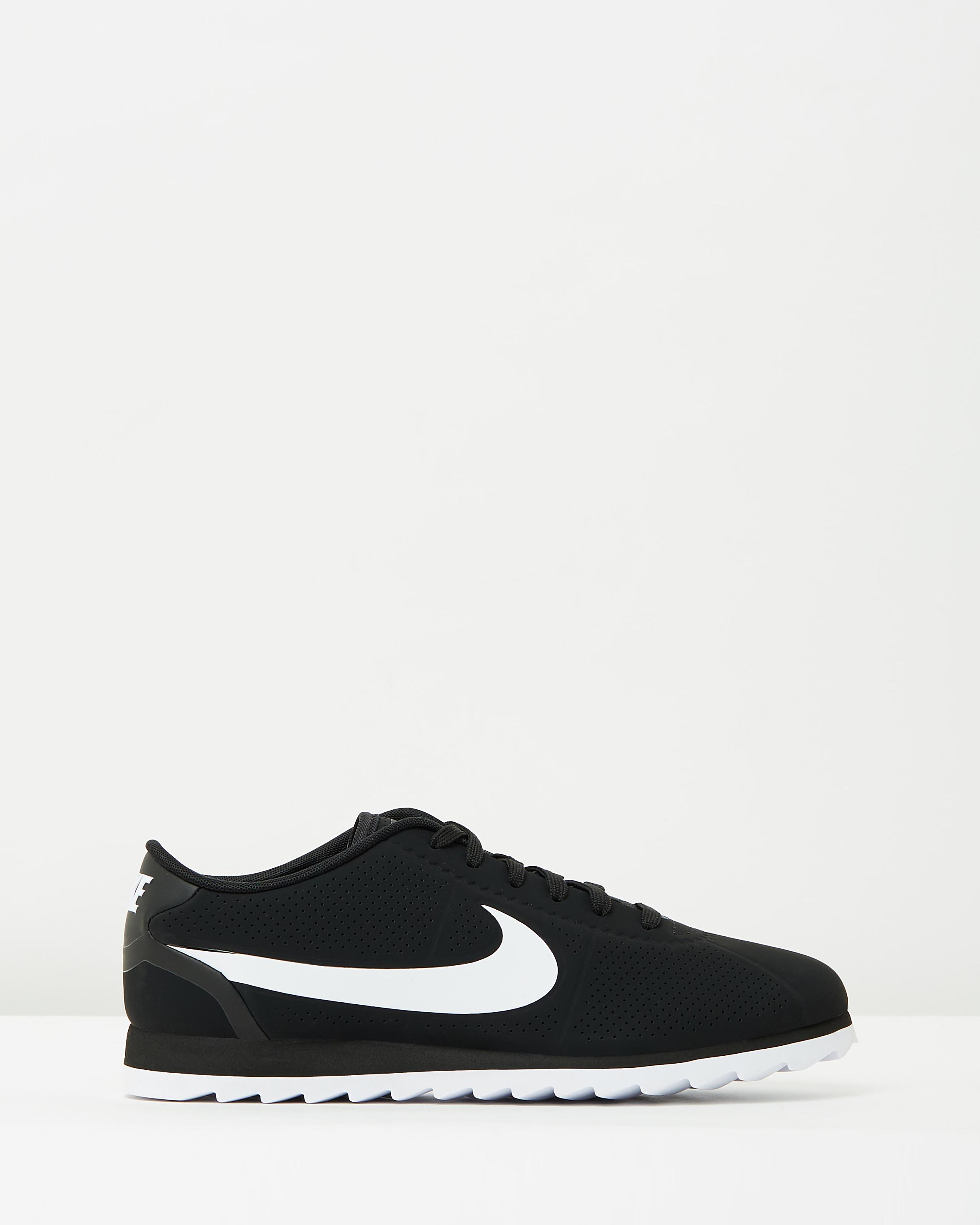 nike cortez black women