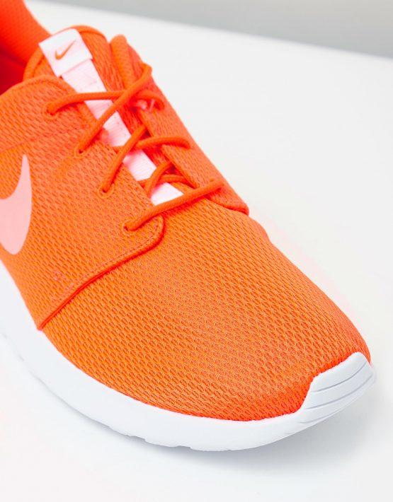 Womens Nike Roshe One Orange 4