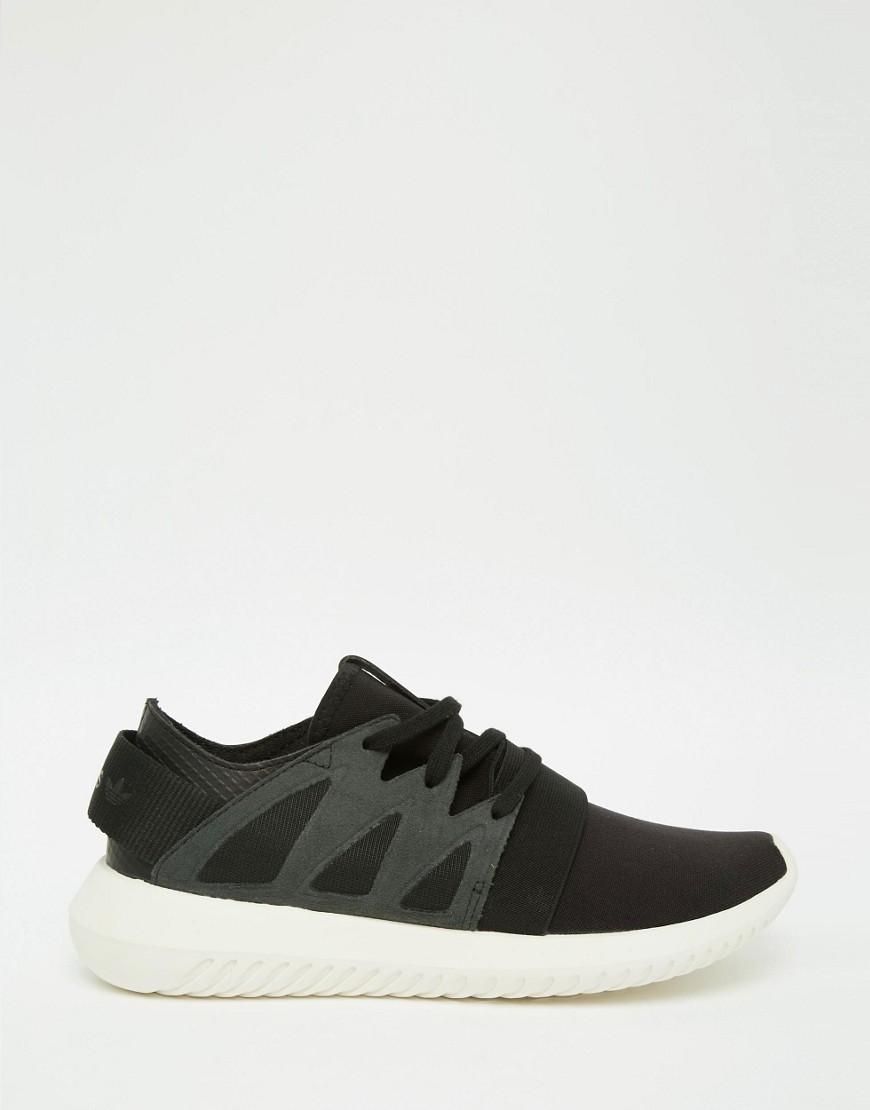 adidas Originals Black Tubular Viral Sneakers