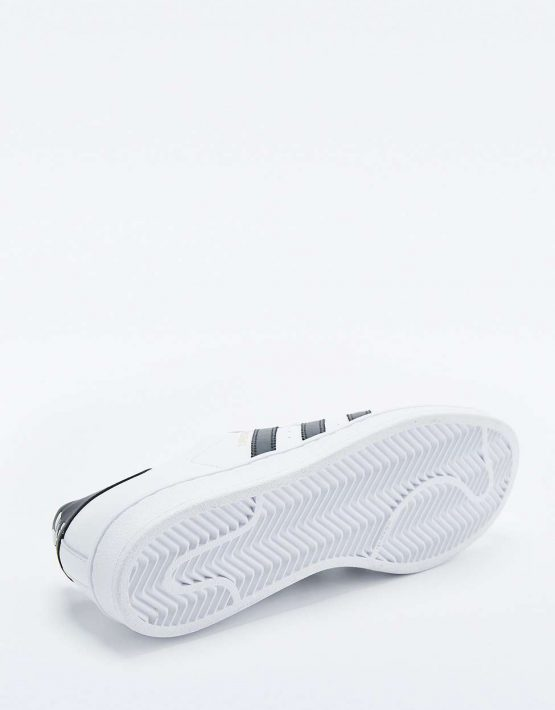 adidas Originals Superstar White and Black Trainers 5