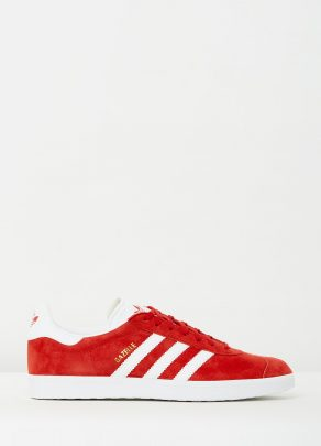 Adidas Mens Gazelle Power Red Sneakers 1