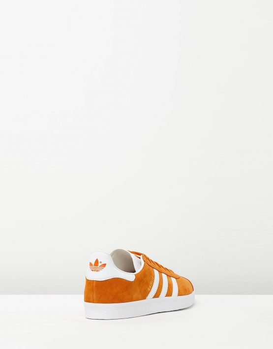 Adidas Mens Gazelle Unity Orange Sneakers 2