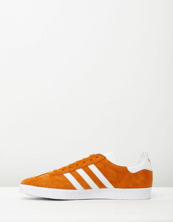 Adidas Mens Gazelle Unity Orange Sneakers 3