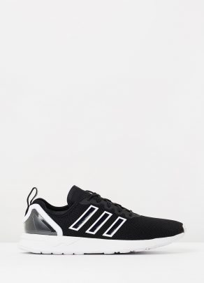 Adidas originals Originals Zx Flux Black Trainers in Black Lyst