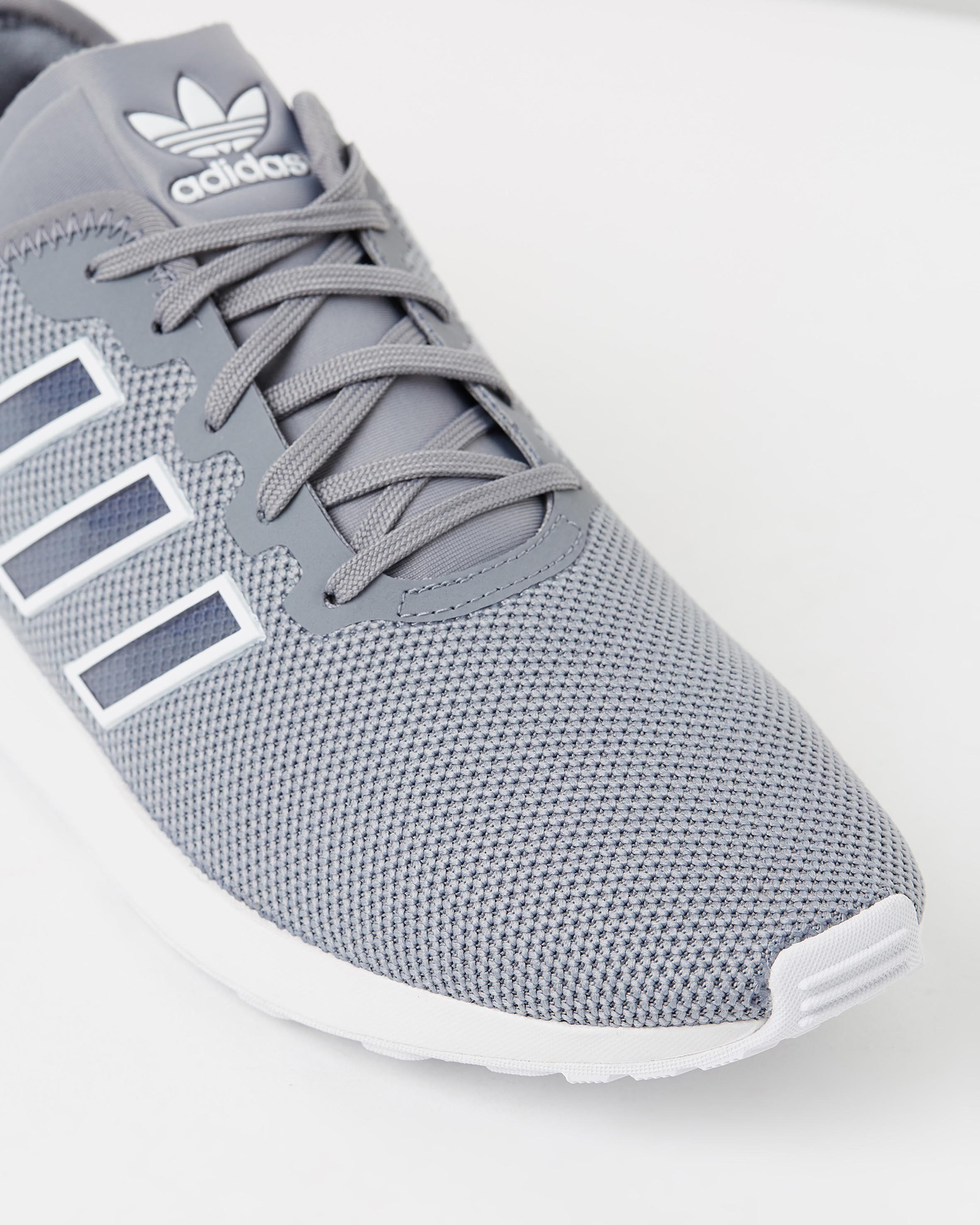 new product 6d054 2b12b Adidas Men's ZX Flux ADV Grey & FTWR White