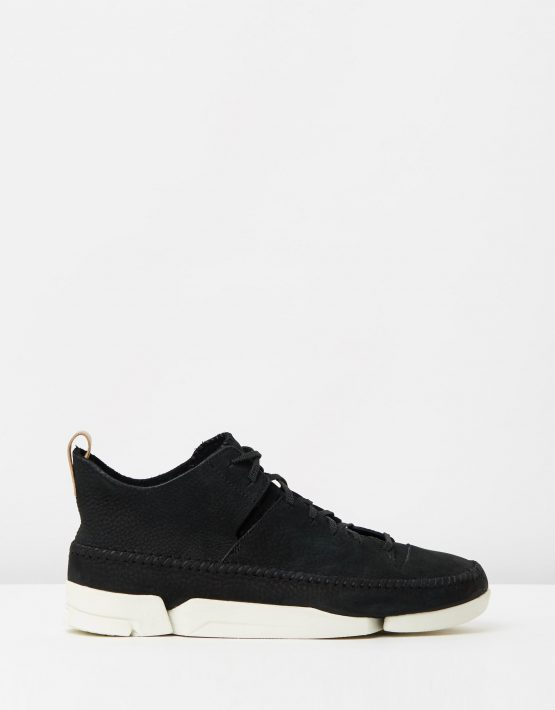 Clarks Originals Trigenic Flex Black Nubuck 1